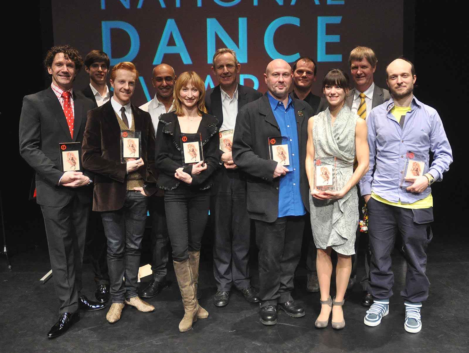 National Dance Awards Winners.<br />© John Ross. (Click image for larger version)