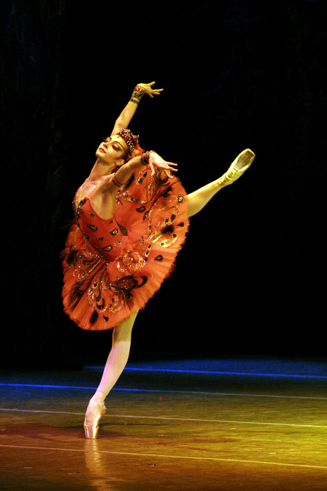 Ekaterina Kondaurova in <I>The Firebird</I>.<br />© Natasha Razina. (Click image for larger version)