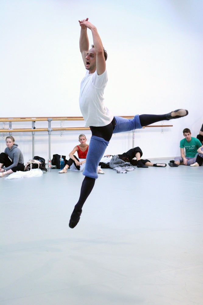 <I>Napoli</I> rehearsal: Thomas Lund.<br />© Rene Erik Olsen. (Click image for larger version)