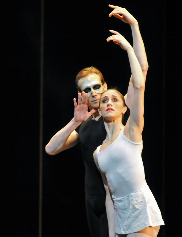 Marianela Nunez and Edward Watson in Song of the Earth. © Dave Morgan.