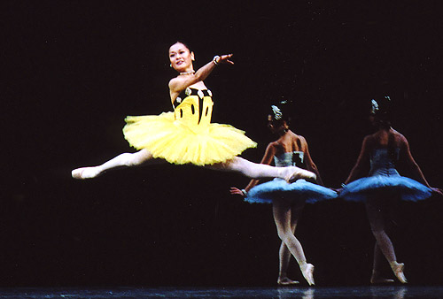 Miyako Yoshida in Scenes de Ballet. © John Ross.