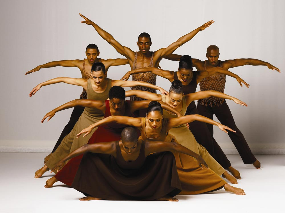 Alvin Ailey American Dance Theater performs Revelations. © Andrew Eccles. (Click image for larger version)