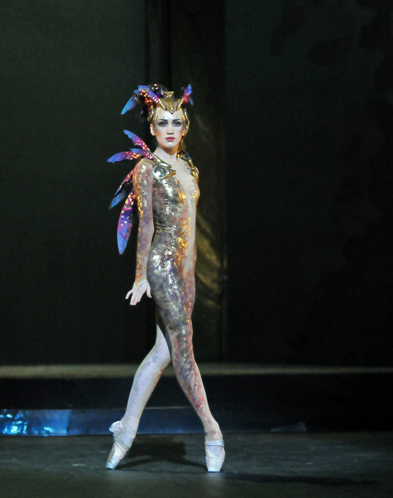 Ksenia Ovsyanick in <I>The Firebird</I>.<br />© Dave Morgan. (Click image for larger version)