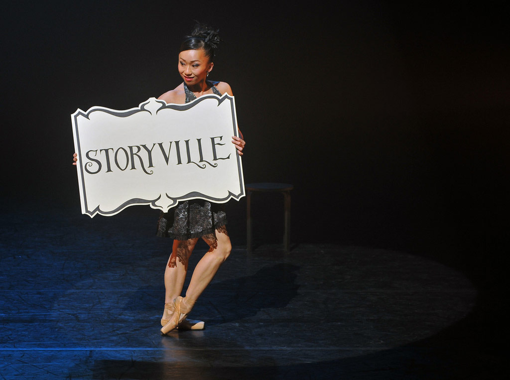 Sayaka Ichikawa and the opening of Christopher Hampson's Storyville.<br />© Dave Morgan. (Click image for larger version)