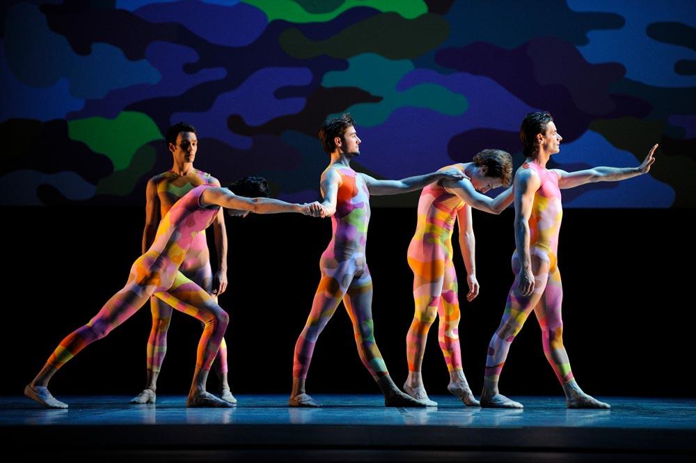 San Francisco Ballet in Morris' Beaux. © Erik Tomasson.