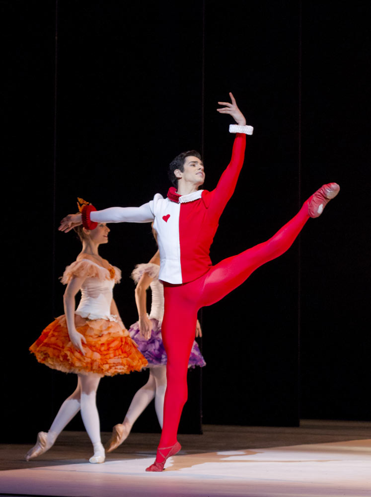 Federico Bonelli in Alice's Adventures in Wonderland. © Johan Persson, courtesy ROH.