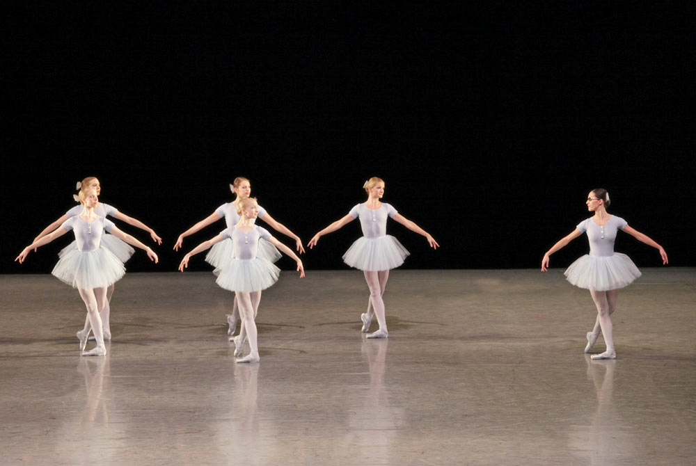 The Royal Danish Ballet in The Concert.© Per Morten Abrahamsen.