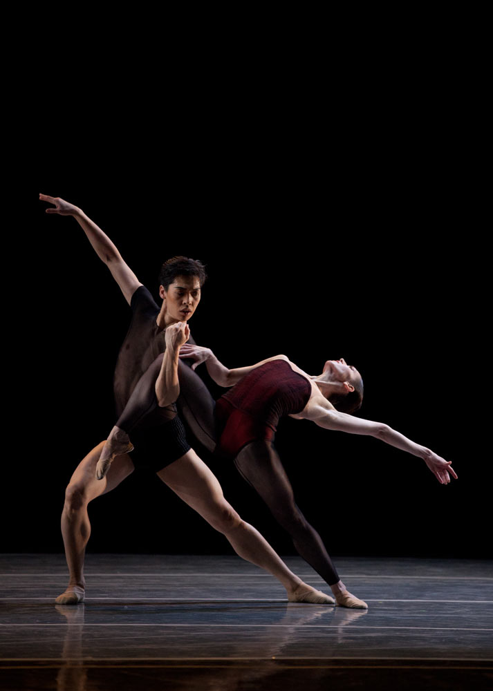Altan Dugaraa and Kathleen Breen Combes in Bella Figura. © Rosalie O'Connor.