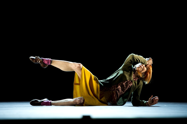 Sylvie Guillem in Mats Ek's Bye. © Bill Cooper. (Click image for larger version)