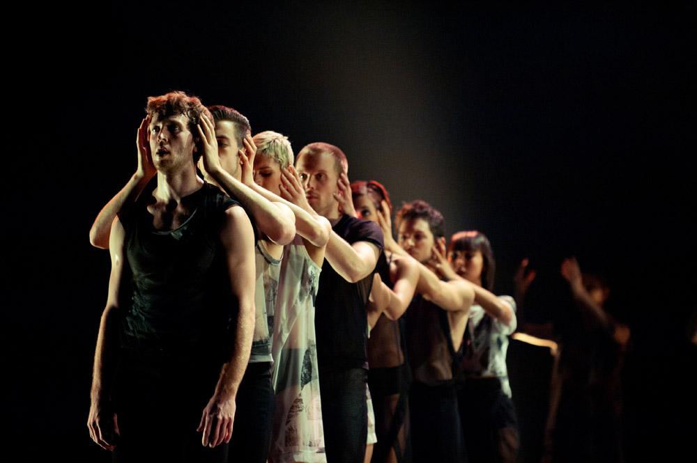 Les Ballets Jazz de Montreal in Night Box. © Benjamin Von Wong. (Click image for larger version)