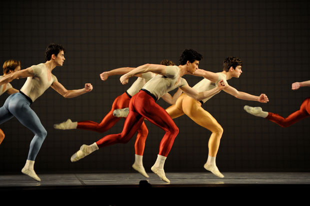 San Francisco Ballet in Robbins' Glass Pieces. © Erik Tomasson. (Click image for larger version)