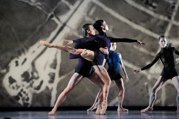 Frances Chung and Pascal Molat in Page's Guide To Strange Places. © Erik Tomasson. (Click image for larger version)