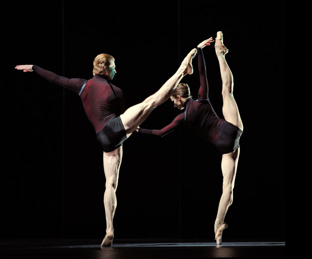 Maria Kochetkova and Gennadi Nedvigin in Page's Guide To Strange Places. © Erik Tomasson. (Click image for larger version)