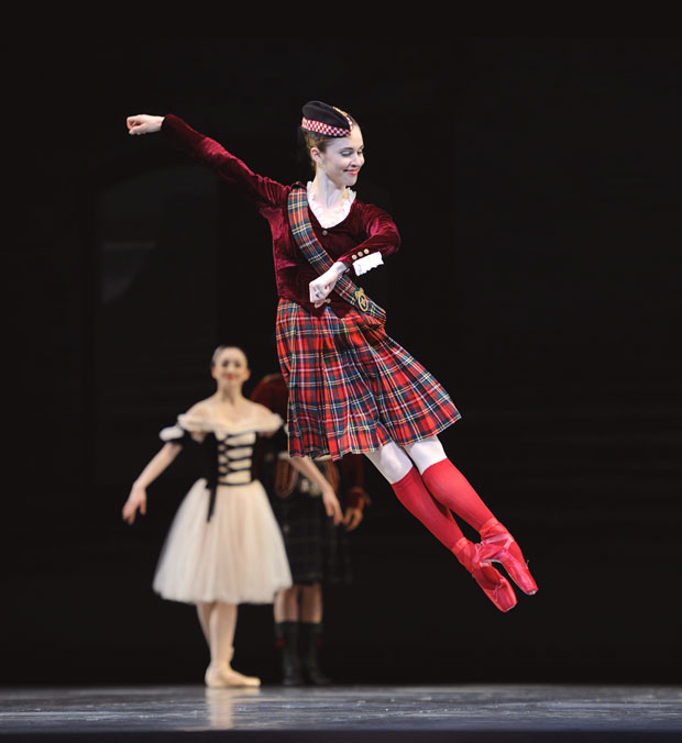 San Francisco Ballet in Balanchine's Divertimento No.15. © Erik Tomasson. (Click image for larger version)