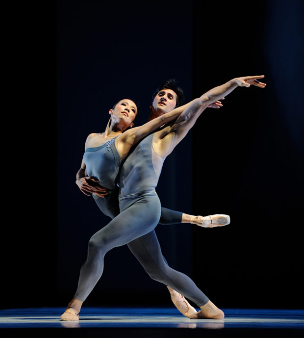Frances Chung and Davit Karapetyan in Tomasson's The Fifth Season. © Erik Tomasson. (Click image for larger version)