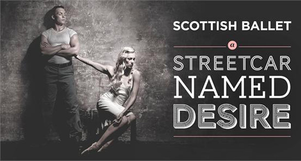 Eve Mutso and Tama Barry in a publicity image for A Streetcar Named Desire. © Graham Wylie. (Click image for larger version)