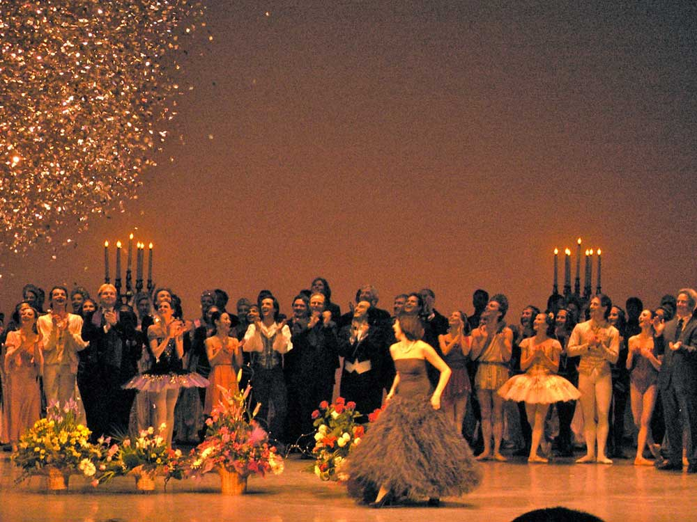 The end of the gala. © Margaret Willis. (Click image for larger version)