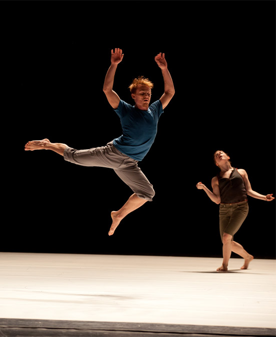 Juilliard dancers in Ohad Naharin's Secus. © Rosalie O'Connor. (Click image for larger version)