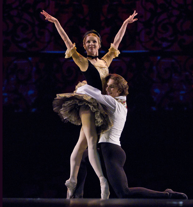 Evgenia Obraztsova and Dinu Tamazlacaru in Satanella. © Stanislav Levshin. (Click image for larger version)