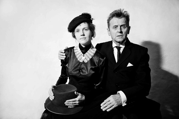 Mikhail Baryshnikov and Anna Sinyakina perform In Paris. © Anna Akartseva. (Click image for larger version)