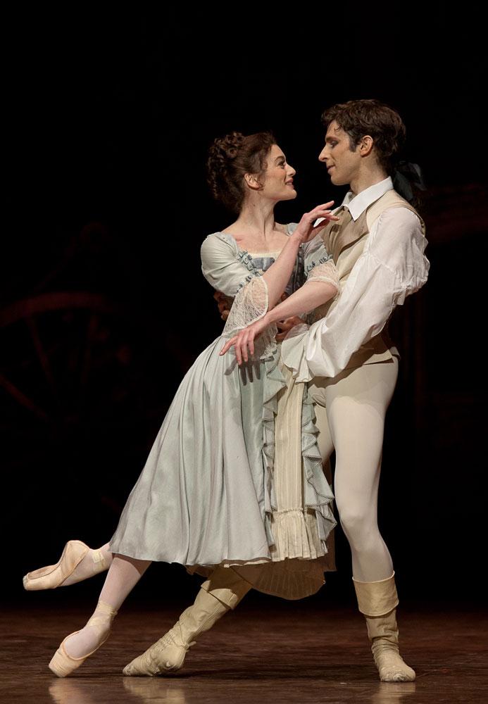 Aurelie Dupont and Josua Hoffalt in Manon. © Anne Deniau. (Click image for larger version)