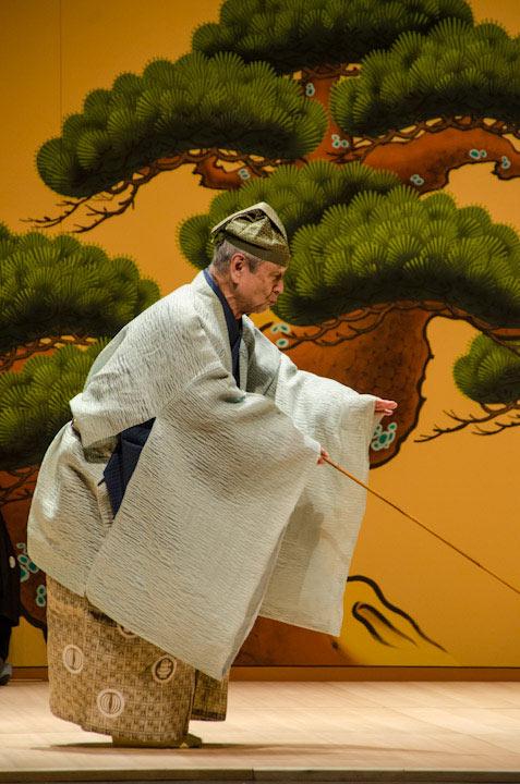 Mansaku Nomura of Mansaku-no Kai. © Bob Hsiang.