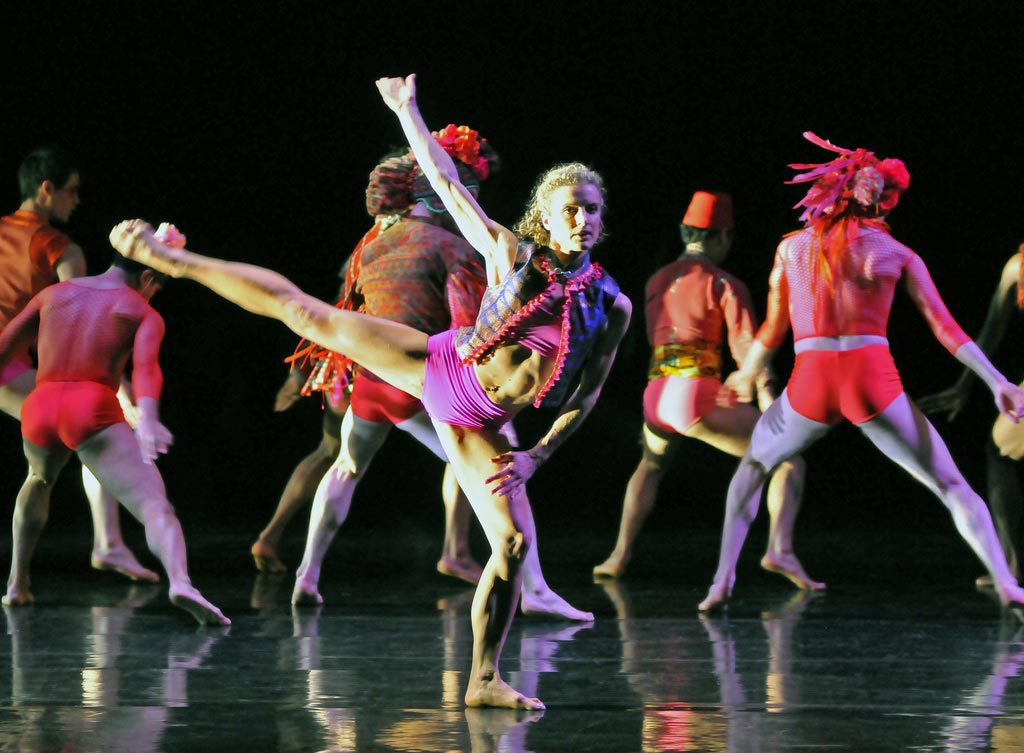 Pieter Symonds in Mark Baldwin's What Wild Ecstasy. © Dave Morgan. (Click image for larger version)