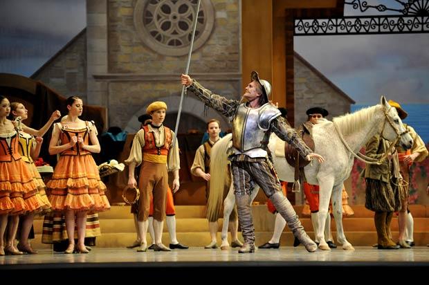 San Francisco Ballet in Tomasson/Possokhov's Don Quixote. © Erik Tomasson. (Click image for larger version)