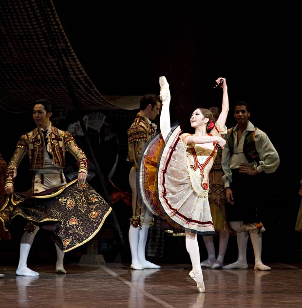 Misa Kuranaga in Don Quixote. © Gene Schiavone. (Click image for larger version)