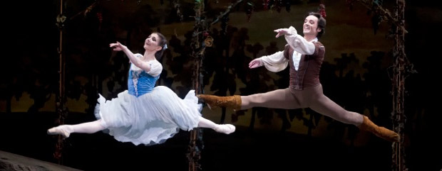 Alina Cojocaru and Angel Corella in Giselle. © Gene Schiavone. (Click image for larger version)
