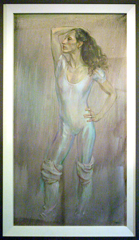 Portrait of Monica Mason by June Mendoza. © June Mendoza/Photograph Bruce Marriott. (Click image for larger version)