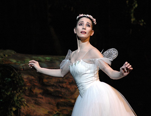 Tamara Rojo in La Sylphide. From 2007 © John Ross.