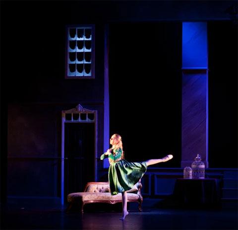 Ella Vickerman as Sara Crew in A Little Princess. © London Children's Ballet.