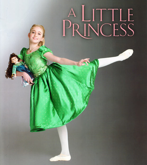 A Little Princess - the programme cover. © London Children's Ballet. (Click image for larger version)