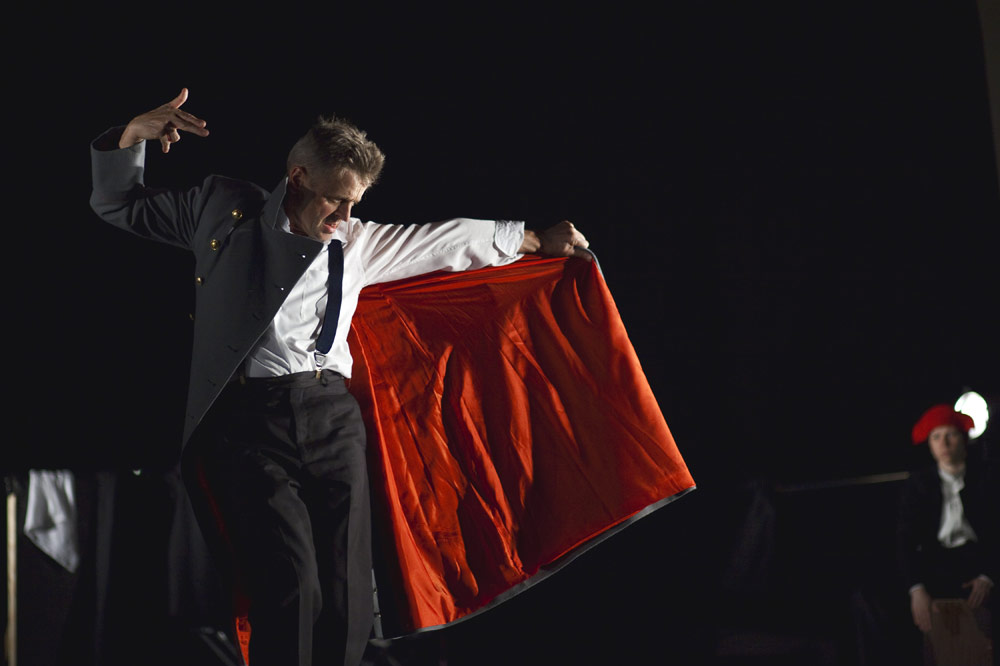 In Paris: Mikhail Baryshnikov. © Maria Baranova. (Click image for larger version)