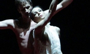 Diana Vishneva and Andrei Merkuriev in Subject to Change. © Natasha Razina. (Click image for larger version)