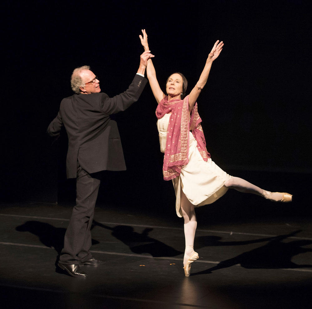 Ursula Hageli and Anthony Dowell. © Bill Cooper. (Click image for larger version)