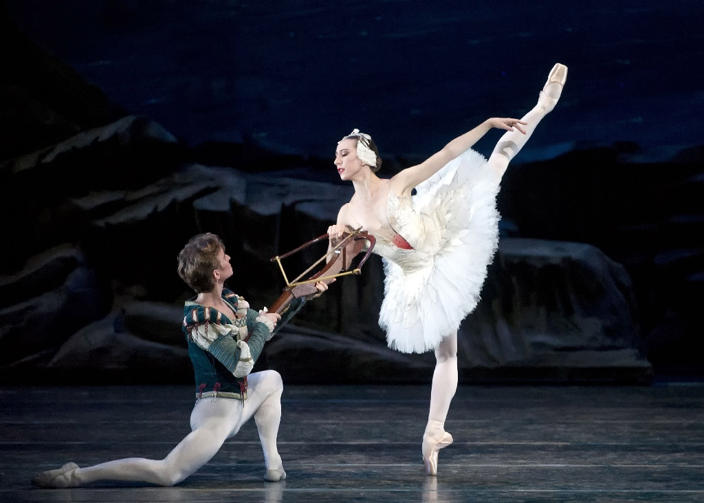Isabella Boylston and Daniil Simkin. © Gene Schiavone. (Click image for larger version)