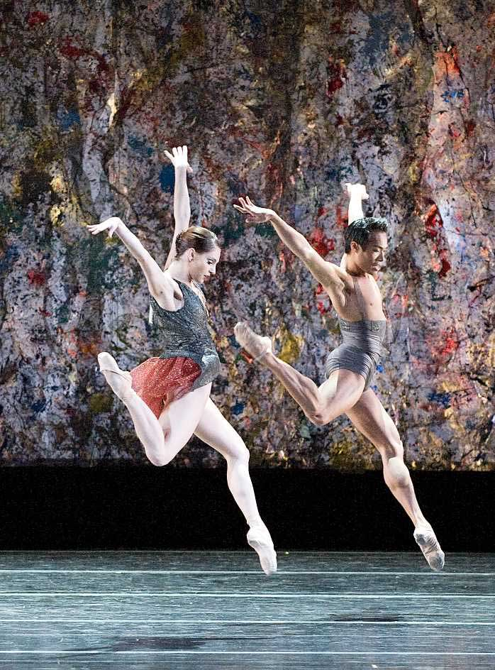 Melissa Hough and John Lam in Helen Pickett's <I>Eventide</I>.<br /> © Gene Schiavone. (Click image for larger version)