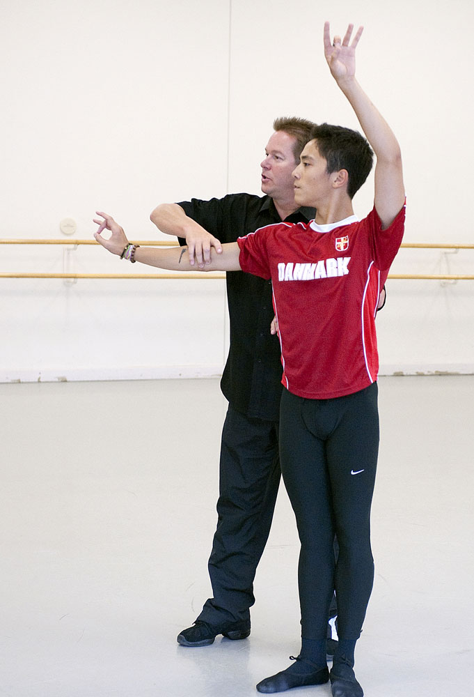 Mikko Nissinen and Jeffrey Cirio in the studio.<br /> © Gene Schiavone. (Click image for larger version)