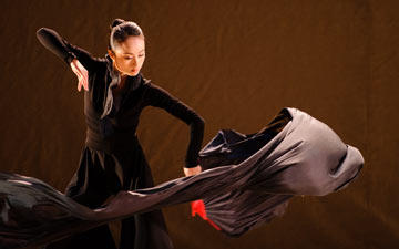 Hong Kong Dance Company in Spring Ritual-Eulogy.© Conrado Dy-Liacco. (Click image for larger version)