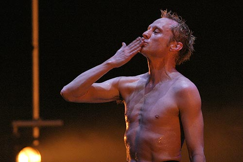 Nigel Charnock (from a 2008 Balletco review)<br />© Julian Hughes.