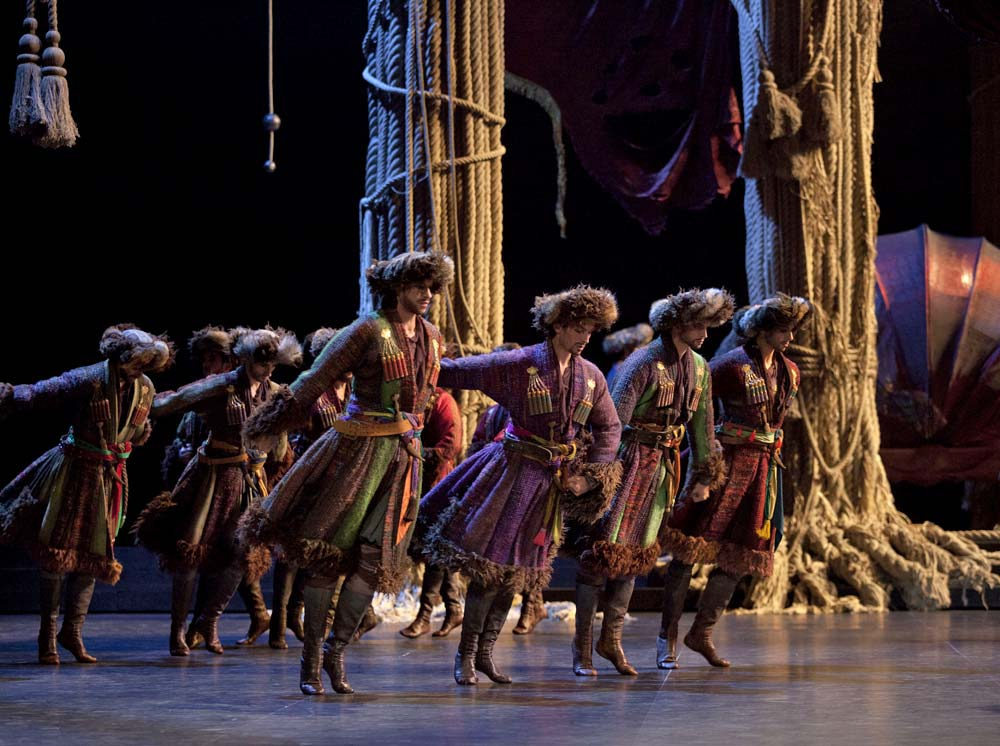 Paris Opera Ballet in <I>La Source</I>.<br />© Anne Deniau. (Click image for larger version)