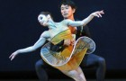 Maria Kochetkova and Hansuke Yamamoto in Possokhov's Classical Symphony.© Dave Morgan and courtesy of San Francisco Ballet. (Click image for larger version)