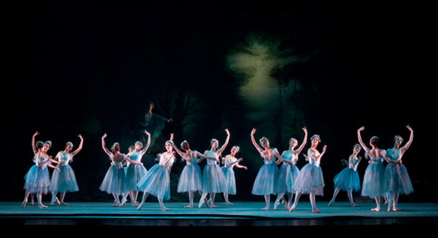 Artists of Birmingham Royal Ballet in <I>The Dream</I>.<br />© Bill Cooper