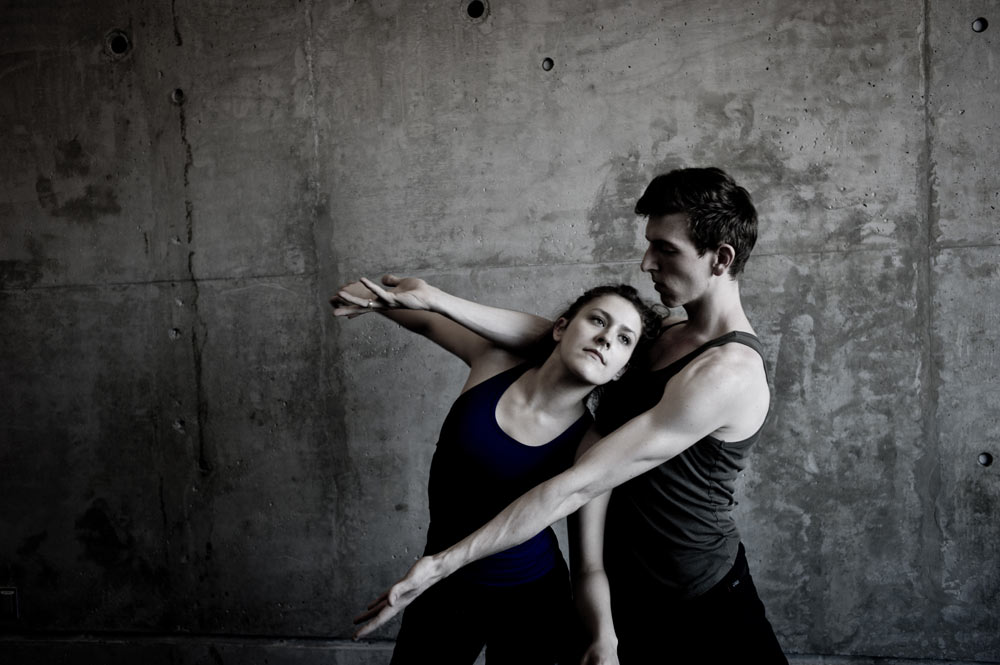 Amanda Wells and Morgan Lugo in L.A. Dance Project publicity image.<br />© Benjamin Millepied. (Click image for larger version)