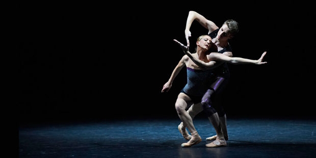 Scottish Ballet in William Forsythe's <I>Workwithinwork</I>.<br />© Jim Markland, James Rowbotham Dance Photography.