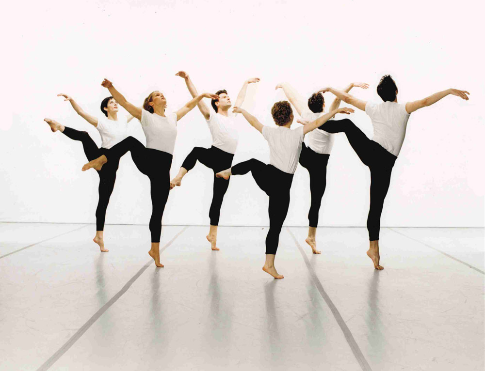 Mark Morris Dance Group in <I>Canonic ¾ Studies</I>.<br />© Marc Royce. (Click image for larger version)