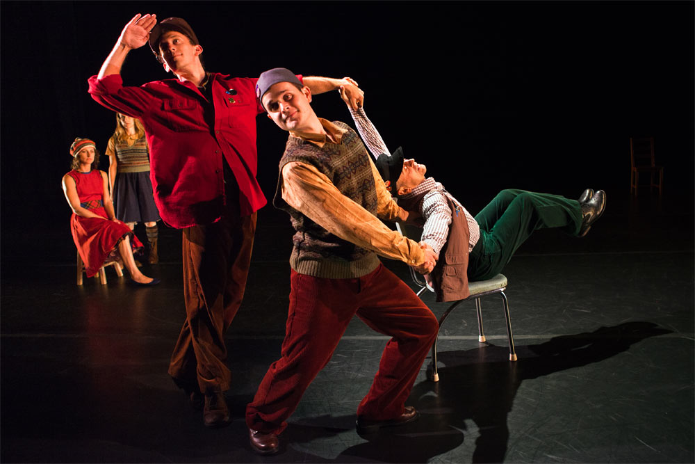 Mark Morris Dance Group � Canonic � Studies, A Wooden Tree ...