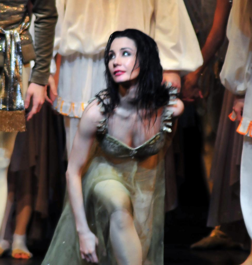 Tamara Rojo at the end of an Ondine performance at the Royal Opera House. © DanceTabs.